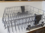 Used Whirlpool Dishwasher Upper Dishrack W10350382 (EAP11753469)