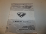 Used Sabre Lawn Tractors Technical Manual TM1769 (Replaces TM GX10131, TM GX10238)