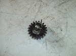 Used Homelite HTC-12 Muffler Cover A04312 & Body A01323