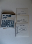 New Kohler M18/20 Piston Ring Set 52 108 09-S