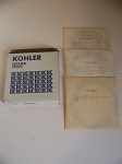 New Kohler K341 and M16 Piston Ring Set 45 108 06-S