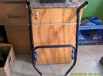 Used Snow Joe 40V cordless snow Blower Upper and Lower Handles
